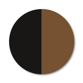 schwarz-braun